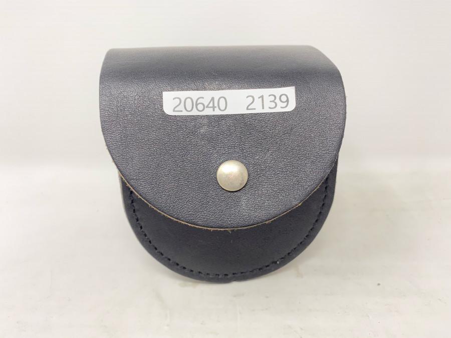Lederrollentasche, für Rollen mit 80mm Durchmesser und 54mm Rollenbreiten, neu