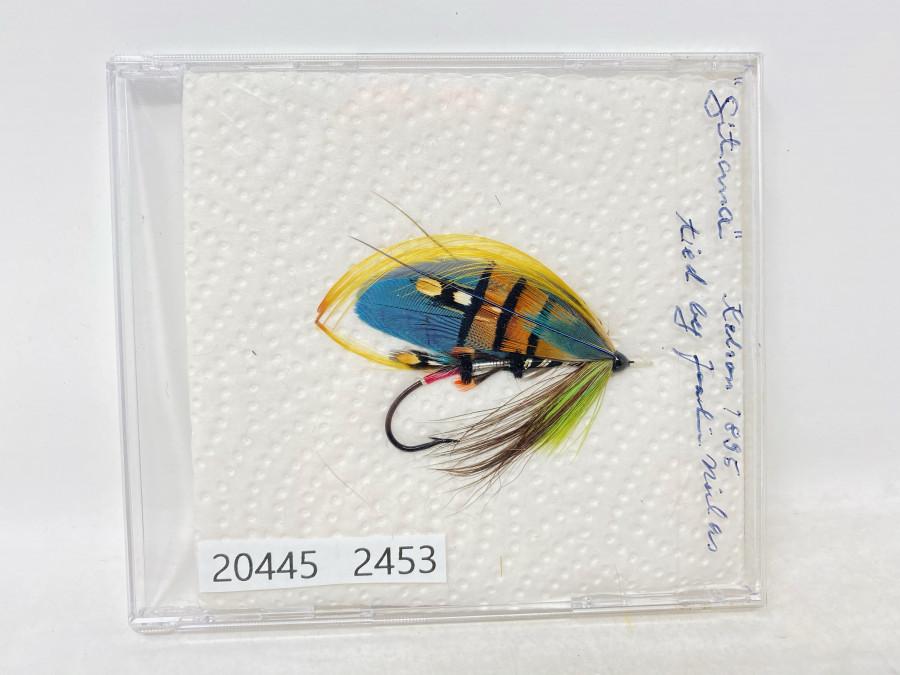 Schöne Lachsfliege, Sitana aus Kelson 1895, 4/0, Cut Eye, gebunden von Joachim Niklas