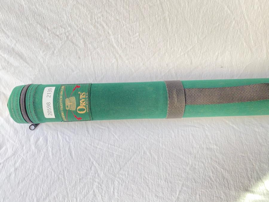 Rutentransportrohr, Orvis, Codura, 50mm Innendurchmesser, 70cm lang, Gebrauchsspuren