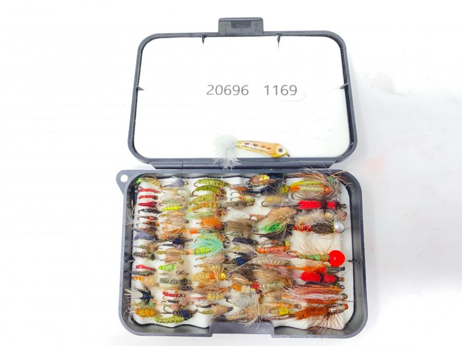 Fliegenbox Flemmings mit 100 brauchbaren Nymphen