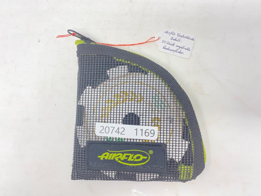 Airflo Vorfachtasche mit 20 ungefischten Vorfächern