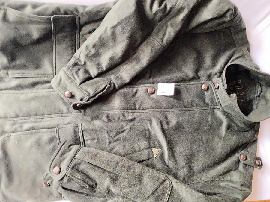 Lodenjacke, Bush Sportswear, Woll & Cashmere, warm, Grösse 50, neuwertig