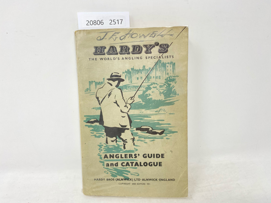 Katalog: Hardy's Anglers' Guide and Catalogue, 1957, und Price List 1964/65