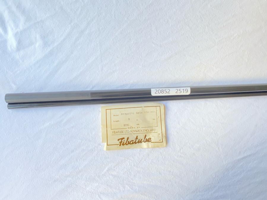 Spinruten Blank, Fibatube Graphite Spin, 2tlg., 274cm, Wurfgewicht 20 - 50 Gramm, ohne Futteral, neu