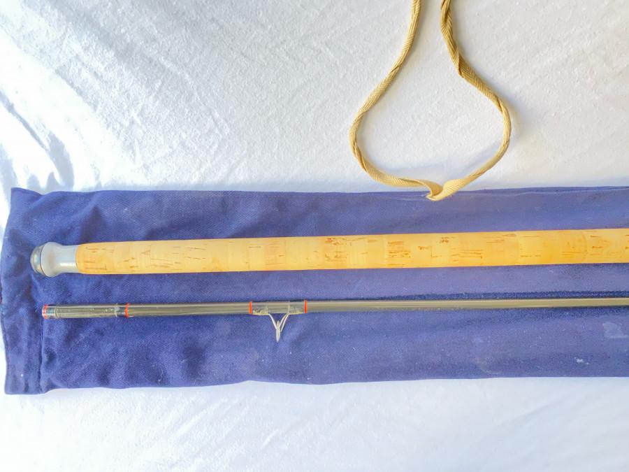 Spinnrute Hardy, N. 1 Graphite Spinning, 2tlg, 305cm, Futteral, Gebrauchsspuren