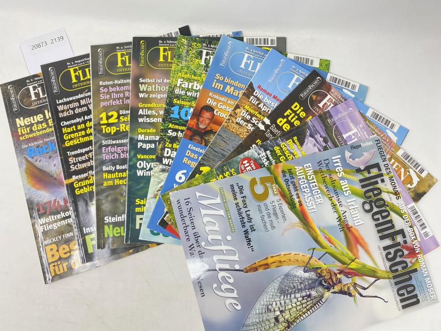 10 Zeitschriften FliegenFischen: 6/2006, 5/2009, 4/2009, 2/2010, 2/2010, 4/2011, 3/2011, 6/2011, 1/2012, 3/2012