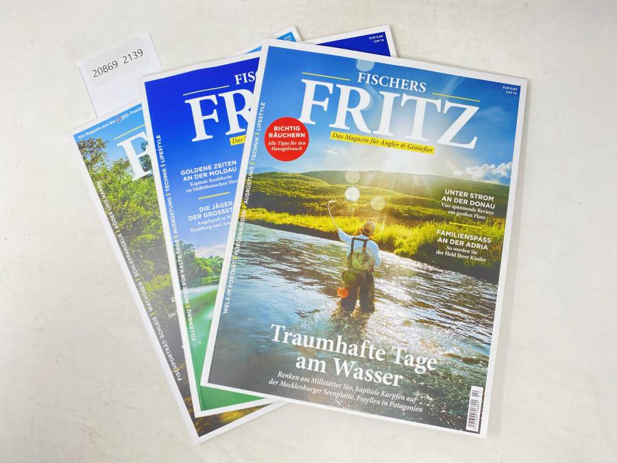 3 Ausgaben Fischer's Fritz. Das Magazin für Angler & Genießer