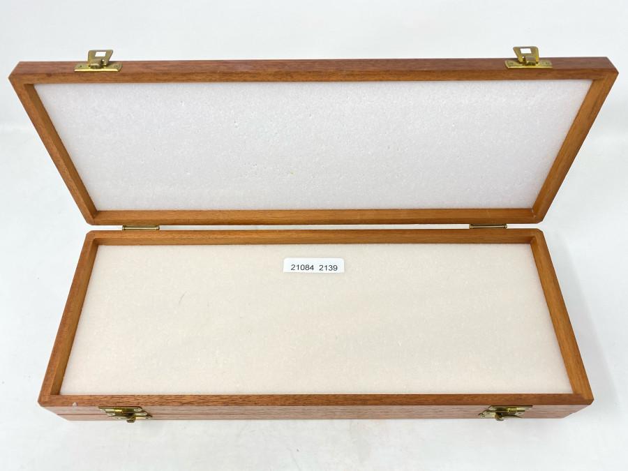 Fliegenbox von Richard Wheatley, England, Mahagoni, Doppeldecker, leichte Gebrauchsspulen