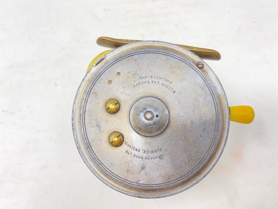 Centerpinrolle, Hardy The Silex No. 2, Rechtshand, technisch sehr gut, ca. 1930