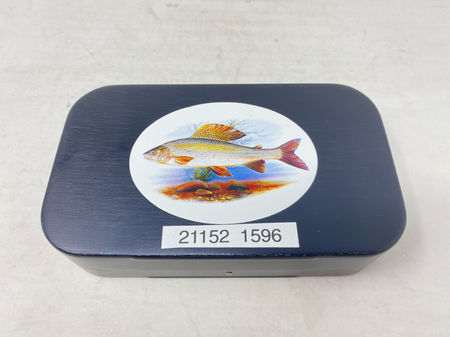 Wheatley Fliegenbox, beidseitig Foam, 150x90x35cmm, mit Deckelmotiv Äsche