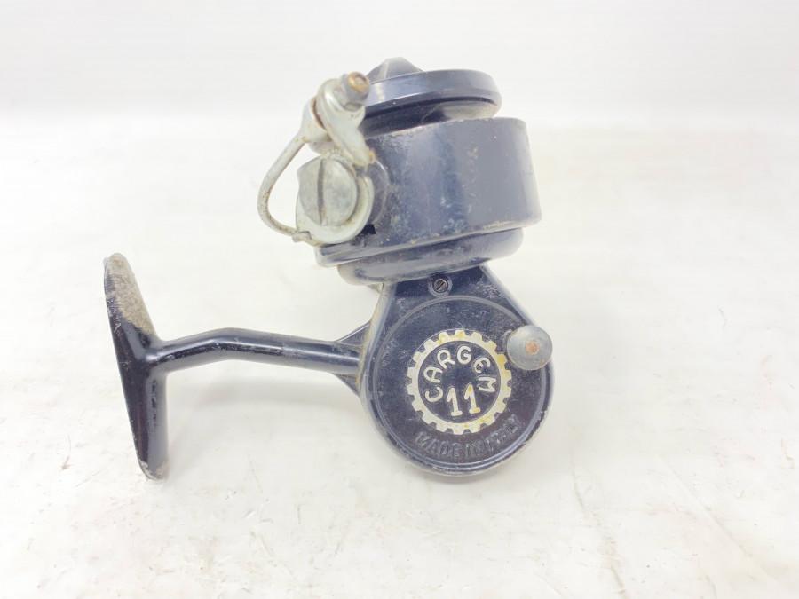 Stationärrolle, Cargem 11, Made in Italy, Gebrauchsspuren