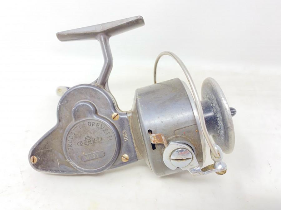 Stationärrolle, Prodotti Brevetti 1063, Made in Italy, Gebrauchsspuren
