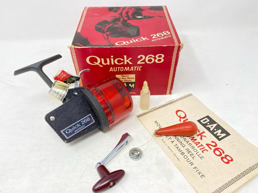 Stationärrolle, DAM Quick 268 Automatic, Bedienungsanleitung, neu im Karton