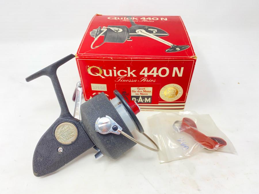 Stationärrolle, DAM Quick 440 N, Ersatzteile, neu im Originalkarton