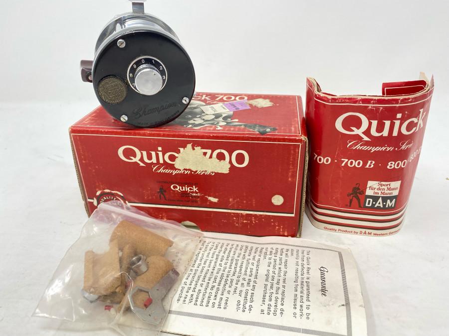 Multirolle, DAM Quick 700, Bedienungsanleitung, Ersatzteile, neu im Originalkarton