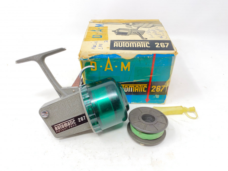 Kapselrolle, DAM Automatic 267, Reservespule, Bedienungsanleitung, neu im Karton
