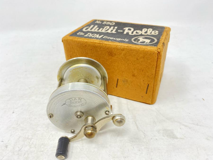Multi-Rolle, Ein Dam Erzeugnis Nr. 550, Alu, sehr guter Zustand, Karton mit Ziegenbock Logo