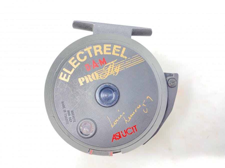Fliegenrolle, DAM Electreel Pro Fly Astucit, Batterien müssen ersetzt werden, Gebrauchsspuren