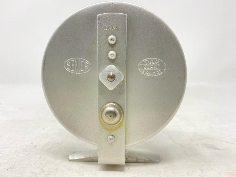 Grundrolle, DAM Gerät Qualität. Senior 4000, Alu, Rollendruchmesser 92mm, Rollenbreite 39mm, sehr guter Zustand