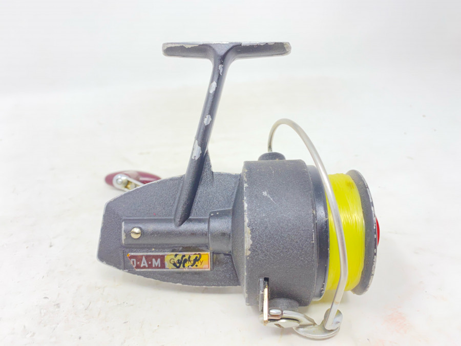 Stationärrolle, DAM Quick 248, mit Schnur, Gebrauchsspuren