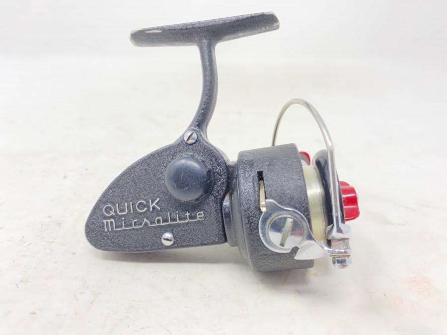 Stationärrolle, DAM Quick Microlite, leichte Gebrauchsspuren