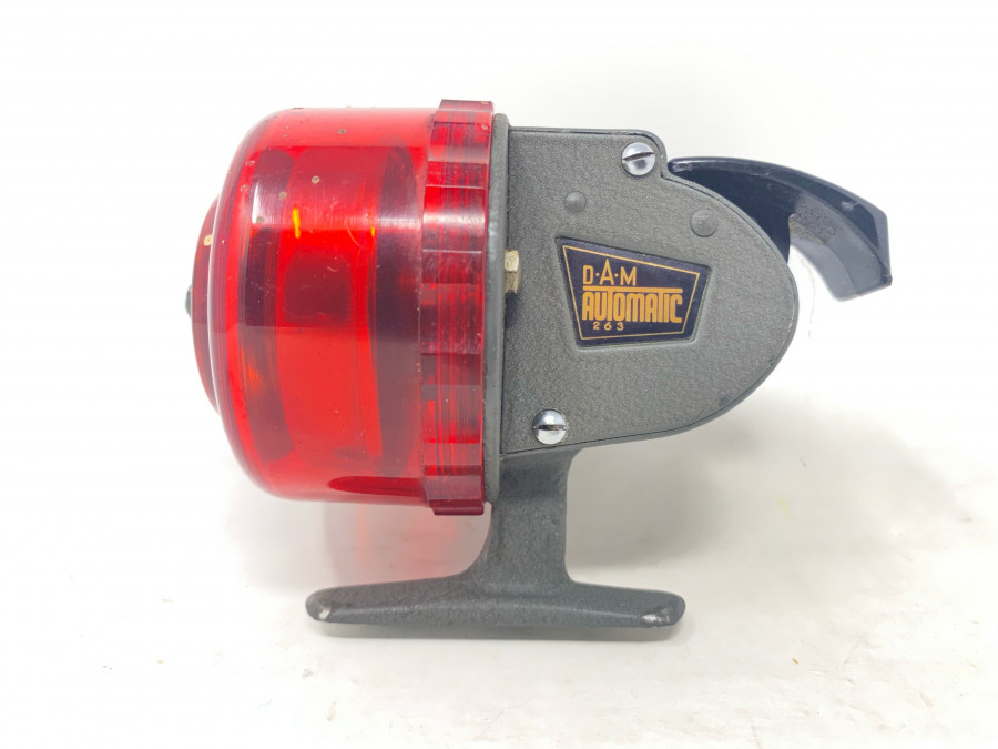 Kapselerolle, DAM Automatic 263, Made in West Germany, Gebrauchsspuren