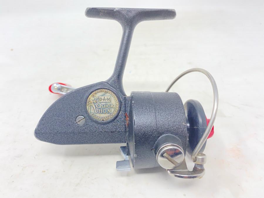 Stationärrolle, DAM Quick 110N, leichte Gebrauchsspuren