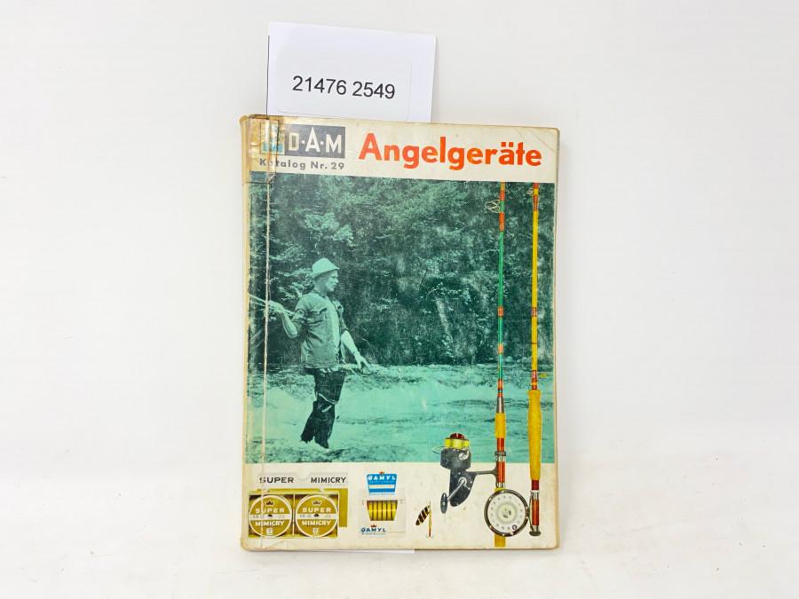 DAM Angelgeräte Katalog Nr. 29