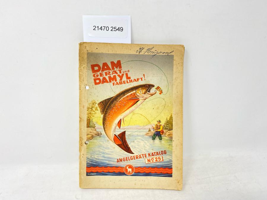 DAM Angelgeräte Katalog No. 25