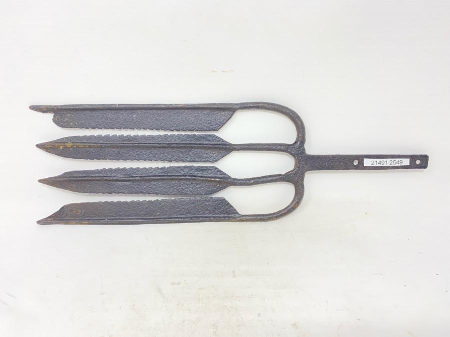 Aalspeer, Stahl geschmiedet, 140mm Breite, 450mm Länge