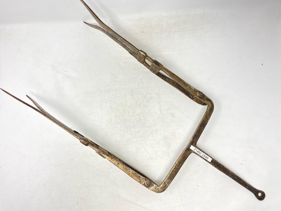 Aalspeer, Stahl geschmiedet, 250mm Breite, 600mm Gesämtlänge