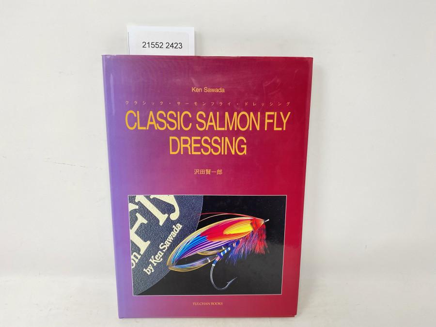 Classic Salmon Fly Dressing, Ken Sawada, Signiert von Ken Sawada