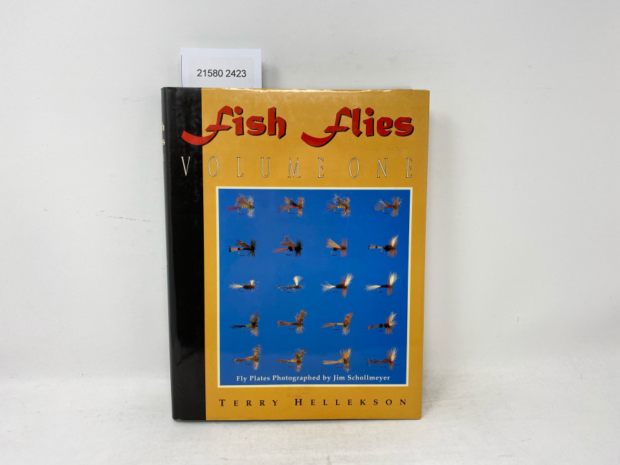 Fish Flies Volume One, Fly Plates Photographed by Jim Schollmeyer, Terry Hellekson