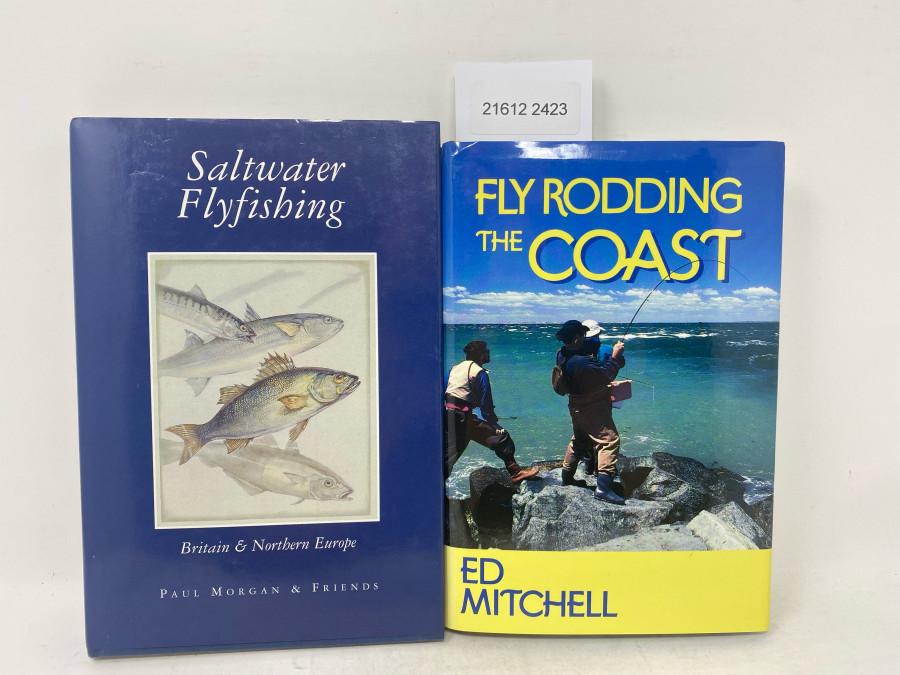 2 Bücher: Saltwater Flyfishing, Britain & Northern Europe, Paul Morgan & Friends, 1998; Fly Rodding the Coast, Ed Mitchell, 1995