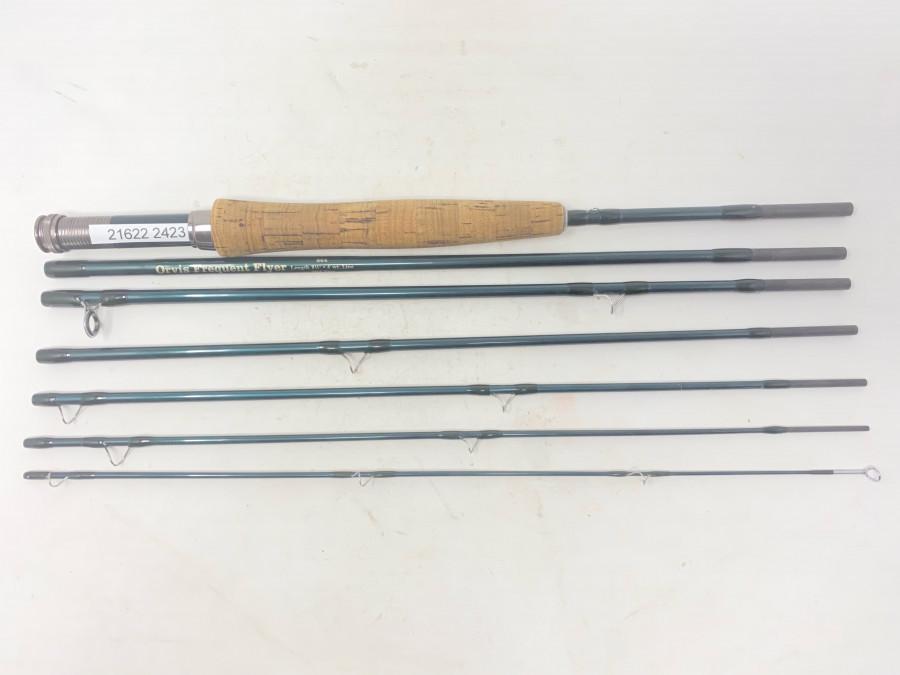 """Fliegenrute,  Orvis Frequent Flyer, 7tlg., 864, 8 1/2"""", #4, Mid Flex, sehr guter Zustand, ohne Futteral"""