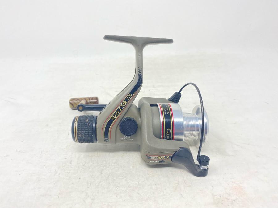 Stationärrolle, DAM Quick CDi 230, technisch gut, Gebrauchsspuren