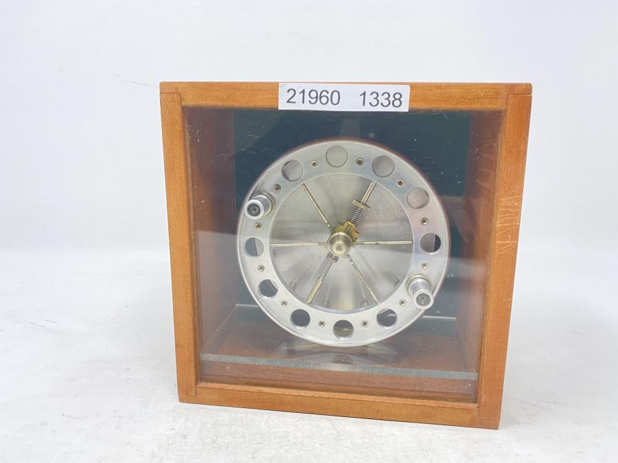 Centerpin Angelrolle, Aerial (nicht gemarkt), Alu, 6 Speichen, Rollenaussendurchmesser 110mm, Rollenbreite 42mm, neu undgefischt in Holzbox