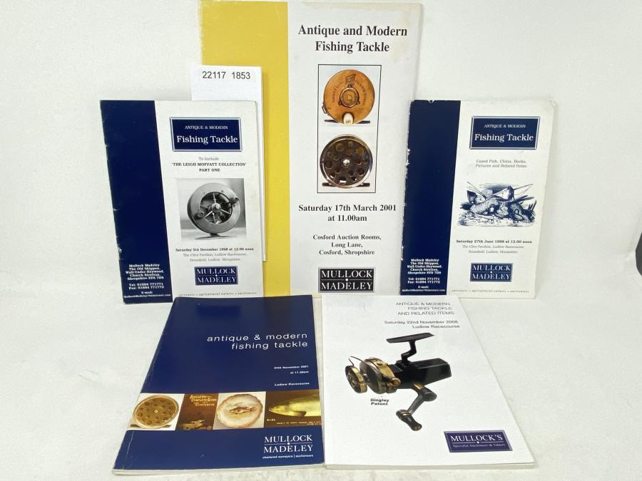 5 Autionskataloge: Mullock & Madeley, 6/1998, 12/1998, 3/2001, 11/2001, 11/2008