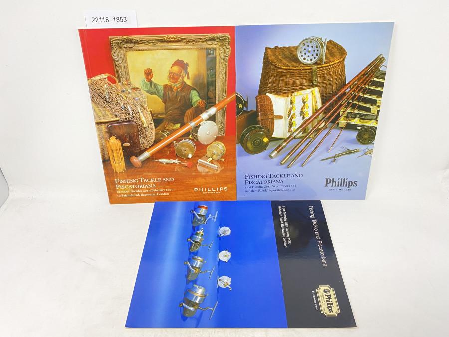 3 Auktionskatalog: Phillips 01/2000, 09/2000, 02/2001
