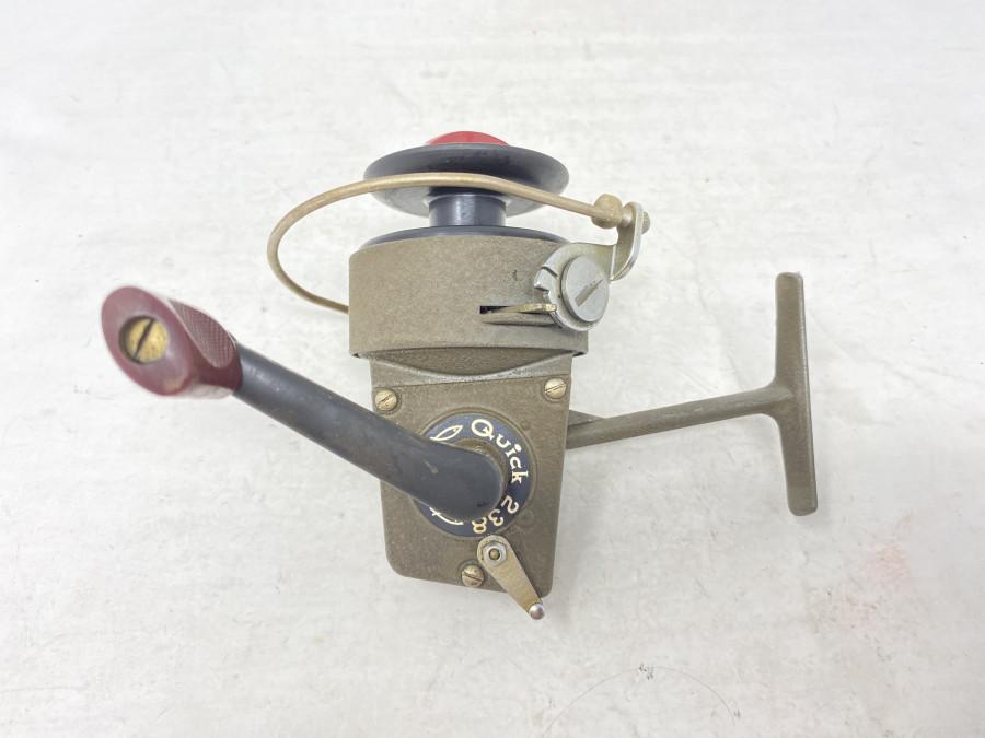 Stationärrolle, DAM  Quick 238, Made in West Germany,  leichte Gebrauchsspuren