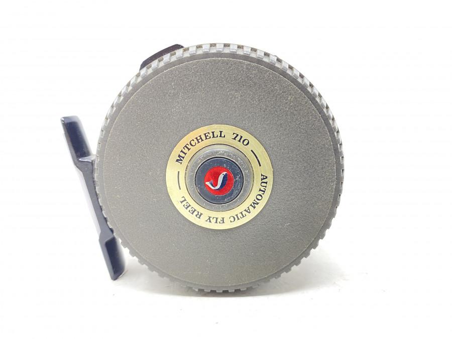 Fliegenrolle, Mitchell 710, Automatic Fly Reel, technisch gut, Gebrauchsspuren