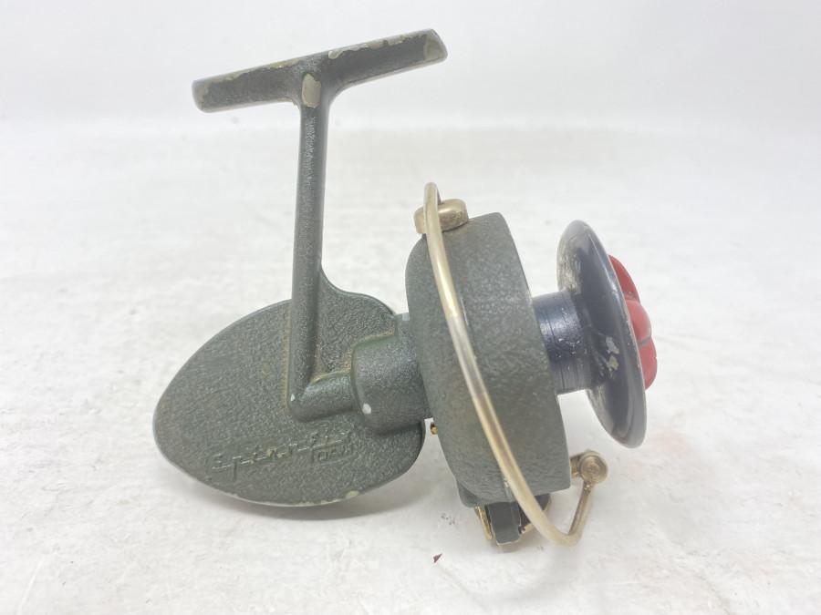 Stationärrolle, DAM Spinnfix, Made in West Germany, Fettwechsel erforderlich, starke Gebrauchsspuren