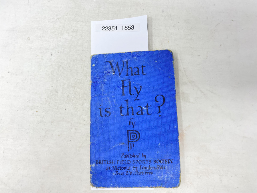 What Fly is that, Britsh Field Sports Society