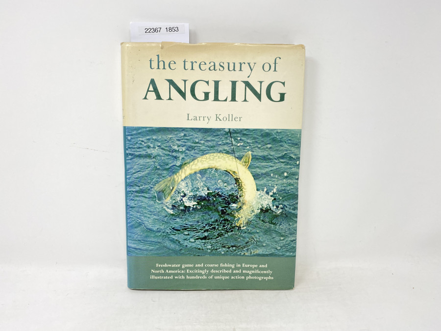 the treasury of Angling, Larry Koller, 1967