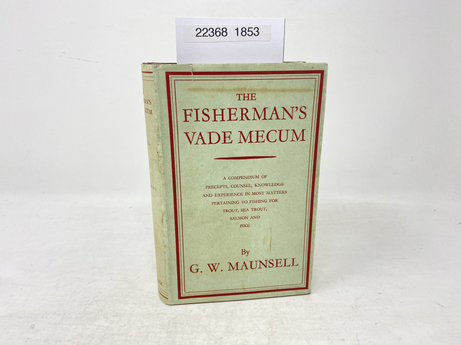 The Fisherman´s Vade Medum, G.W. Maunsell, 1963