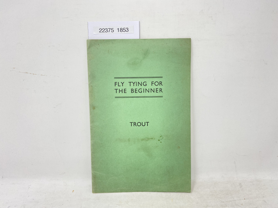 Fly Tying for the Beginner, Trout, Veniard