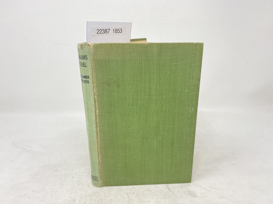 Angler's Creel, Alexander Wanless, First Printing