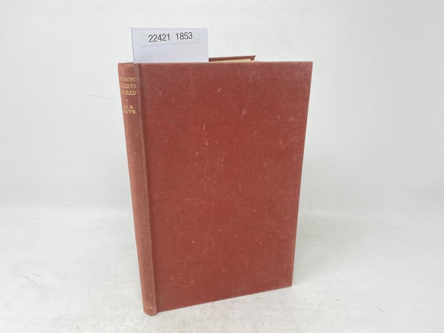 Salmon Secrets Shared, Captain A.P.R. Smith, 1950