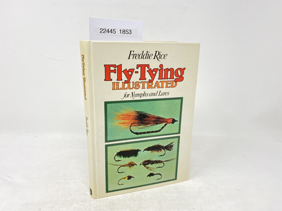 Fly - Tying Illustreated for Nymphs and Lures, Freddie Rice, 1976