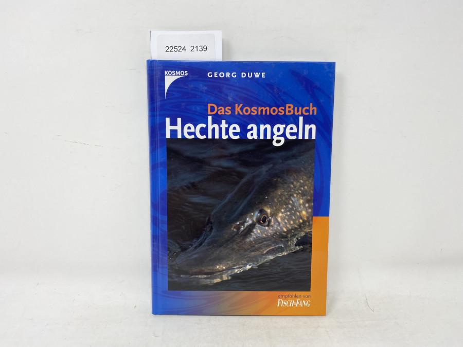 Das KosmosBuch Hechte Angeln, Georg Duwe, 2003